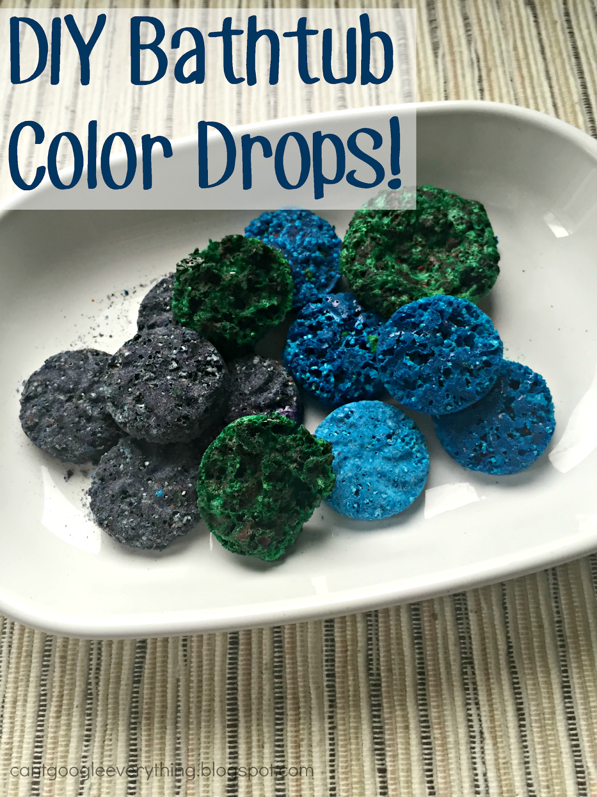 DIY Homemade Bathtub Color Drops! - My Mini Adventurer